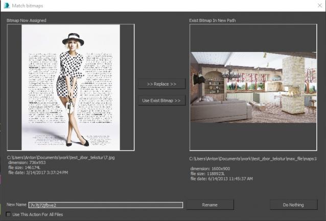 3ds Max Collect Asset Script   3db3 com - Free 3D Model Download
