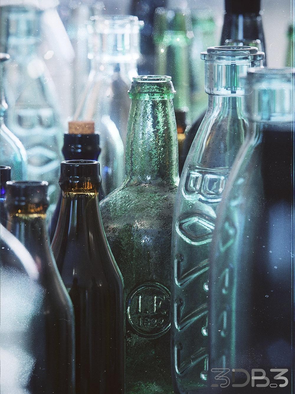 Bottle 3d models