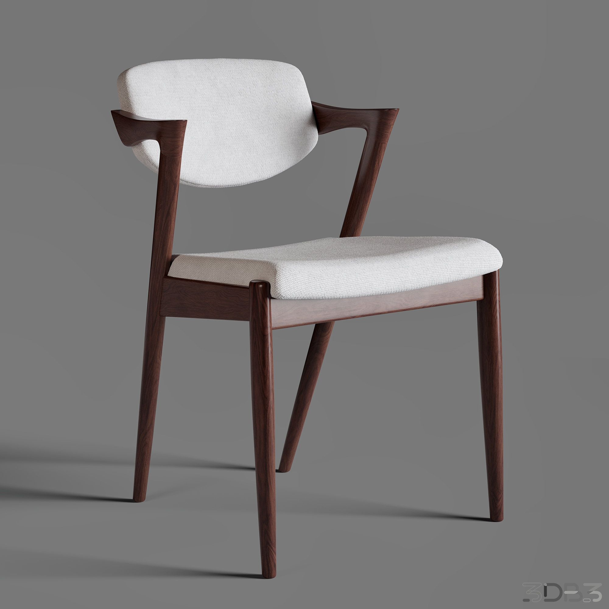 Chair Nº42 is a master piece designed by Kai Kristiansen