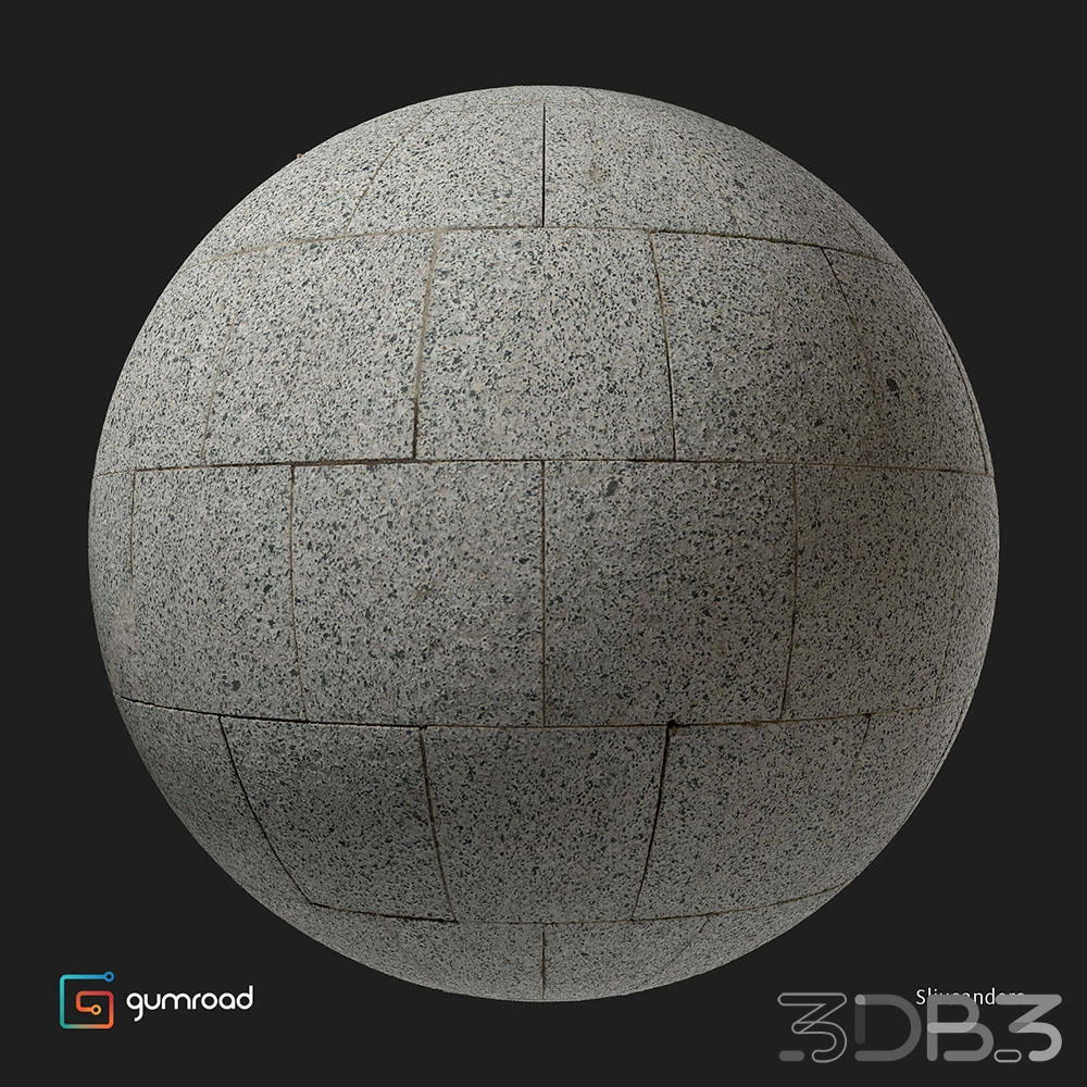 Photogrammetry texture granite pavement 01
