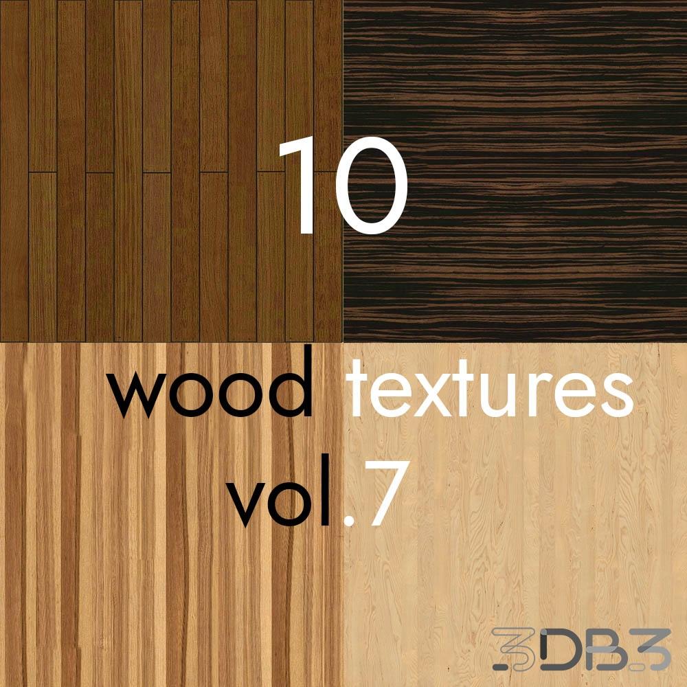 10 Wood Textures Vol.7
