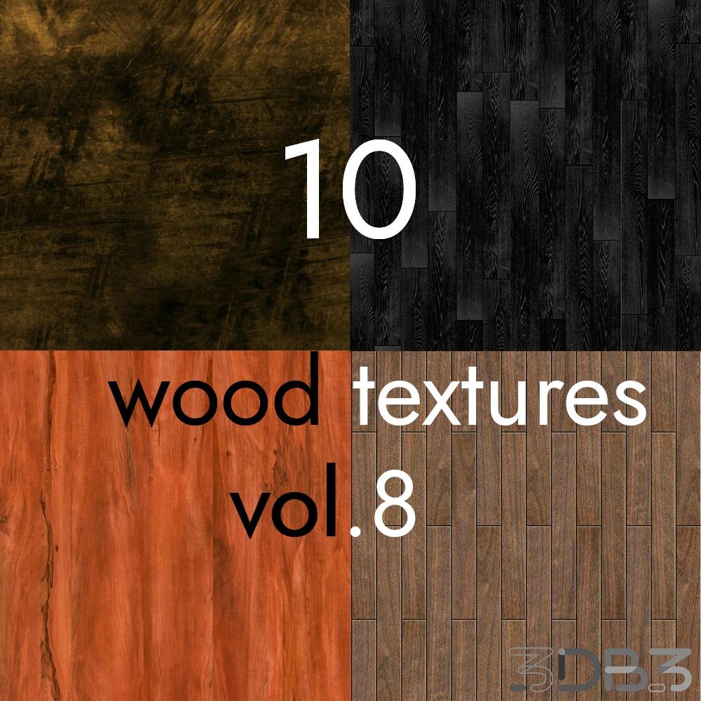 10 Wood Textures Vol.8