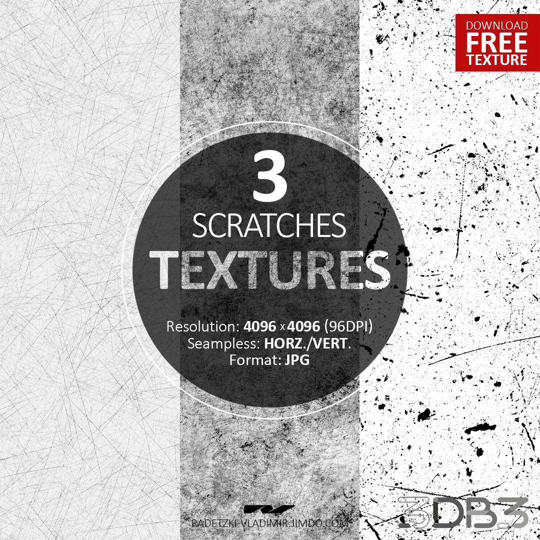 3 Scratches Textures
