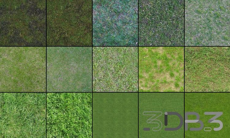 Tileable Textures Vol. 4 Grass Textures