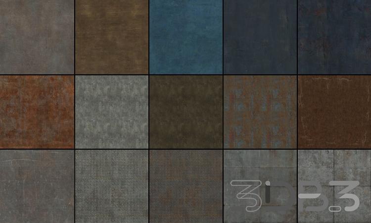 Tileable Textures Vol.6 Metal Textures