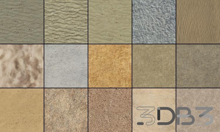 Tileable Textures Vol.10 Sand Textures