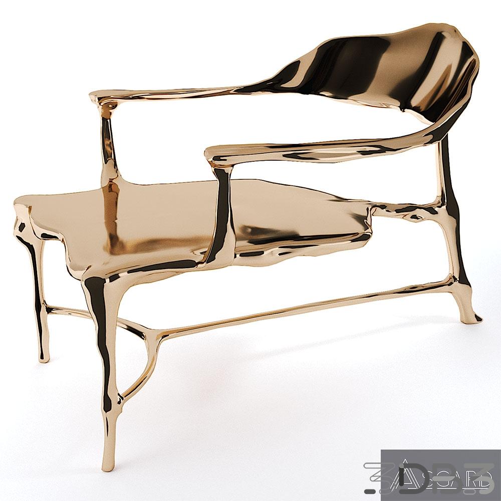 Bronze Age Lounge Chair