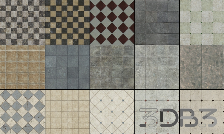 Tileable Textures Vol.11 Tile Textures