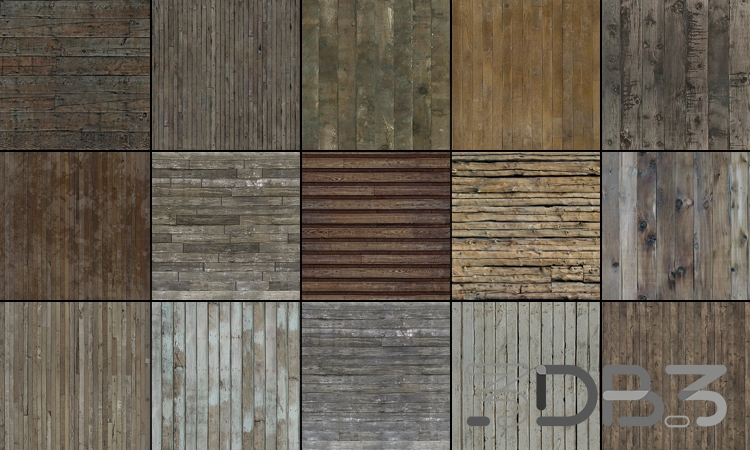 Tileable Textures Vol.13 Wood Textures