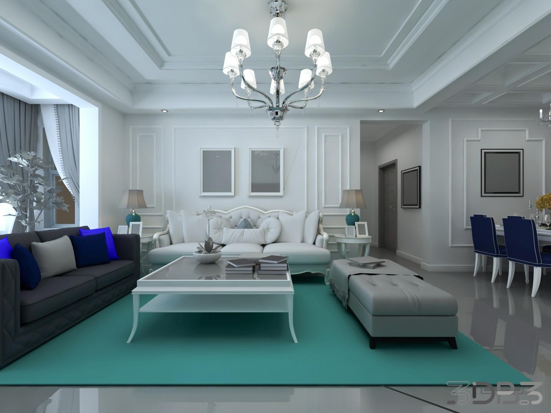 Free Interior Scene