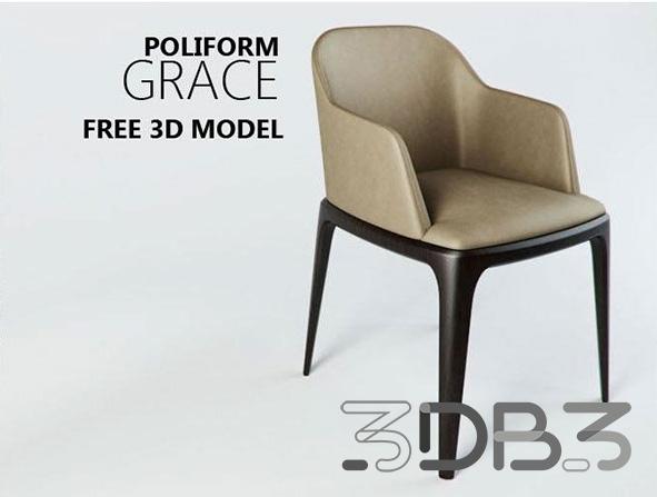 FREE 3D MODEL Poliform Grace