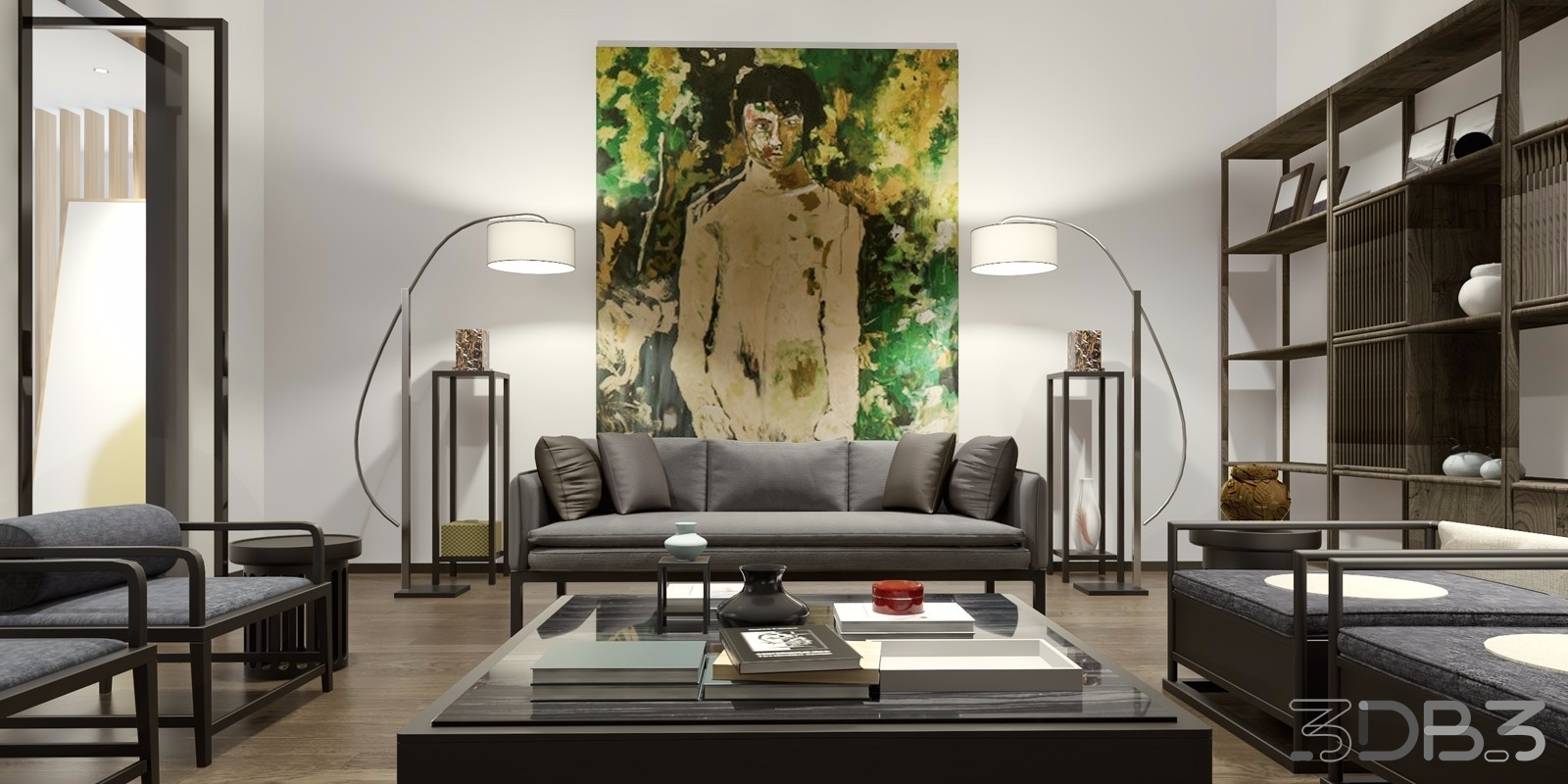 New Chinese Style Living Room