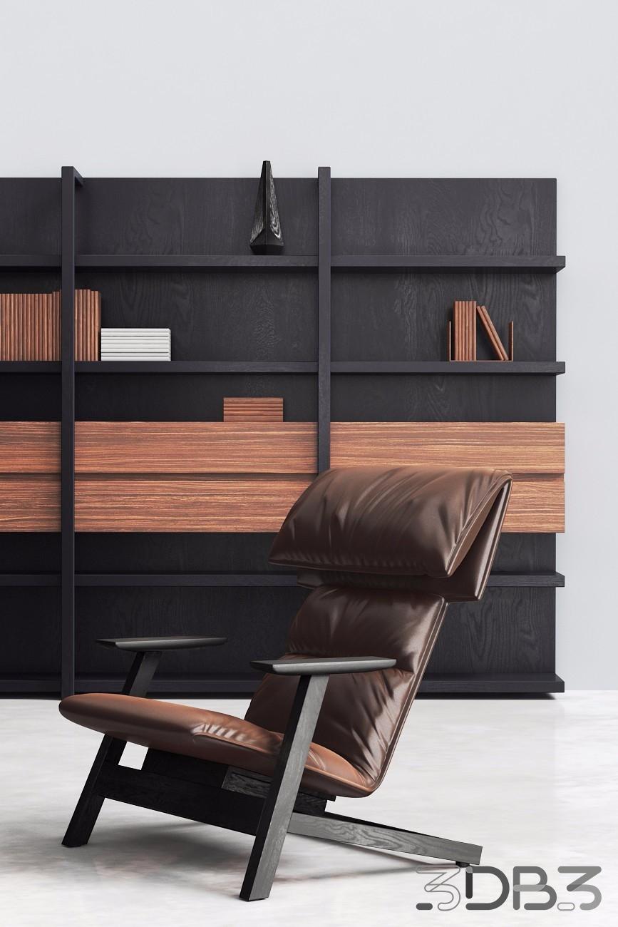 Contemporary Lounge Chair - Banlan