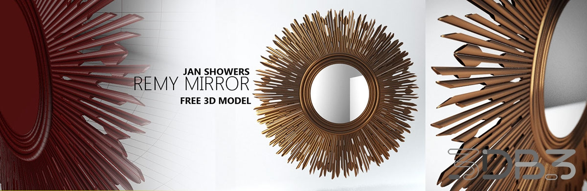 Jan Showers Remy Mirror