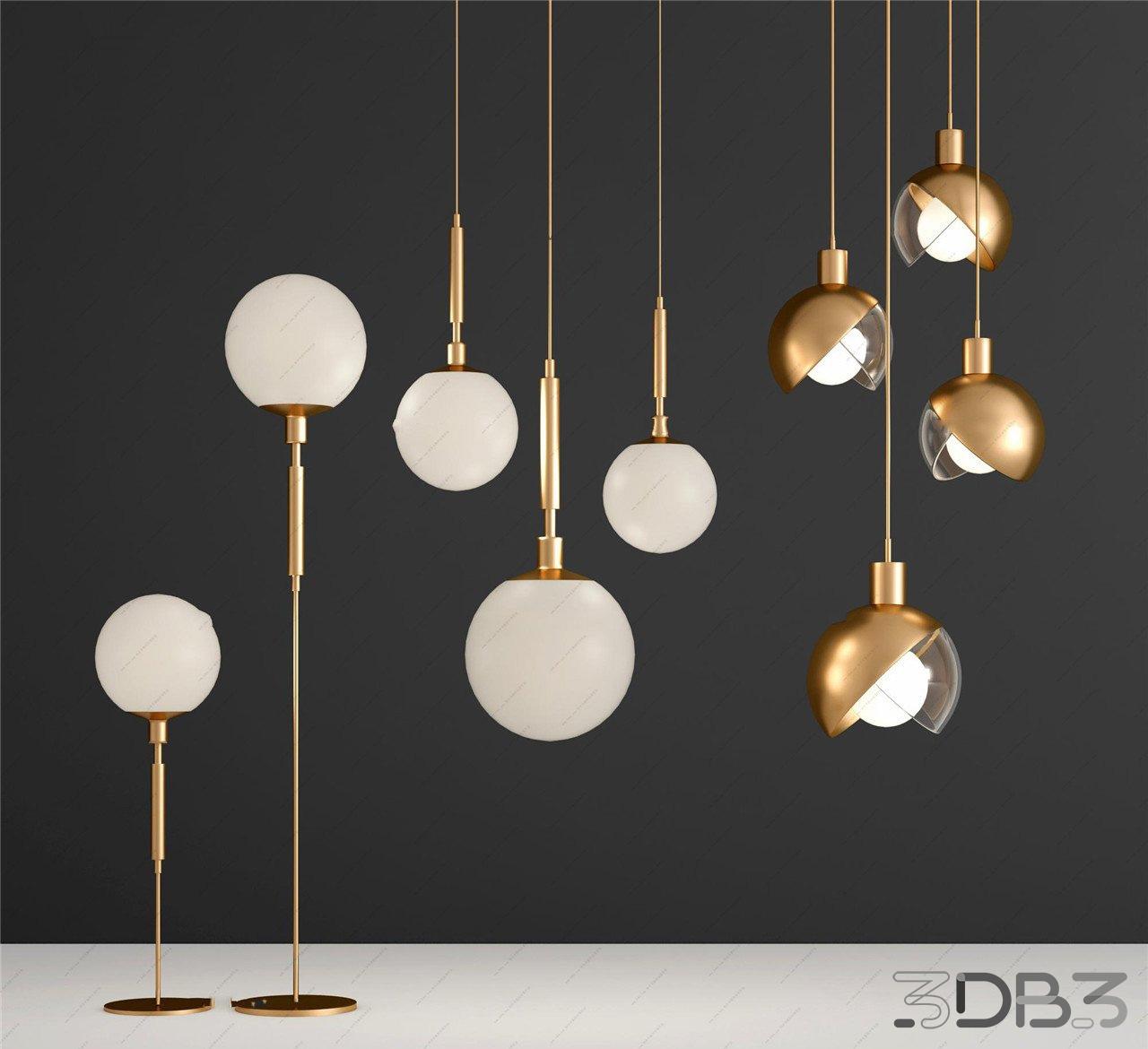 Modern Metal Floor Lamps