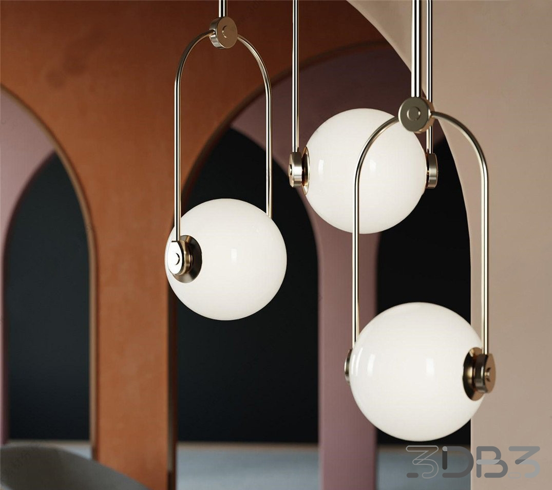 New Rounded Ceiling Light