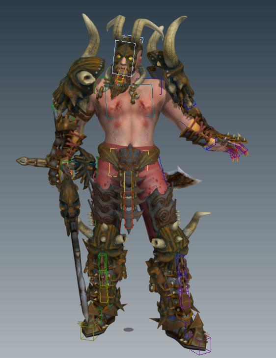 3D Django Model