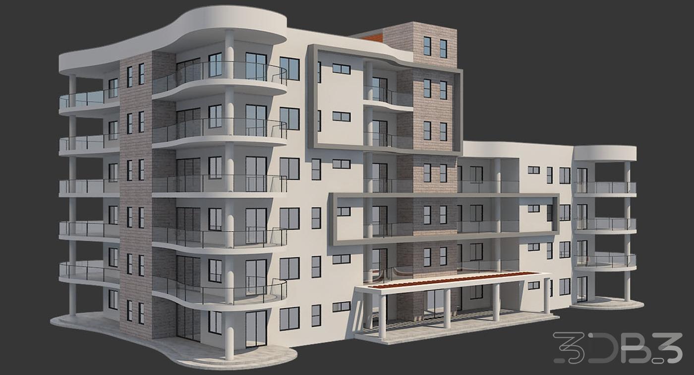 3D Apartment Model 2